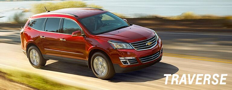 new chevy traverse at holiday automotive