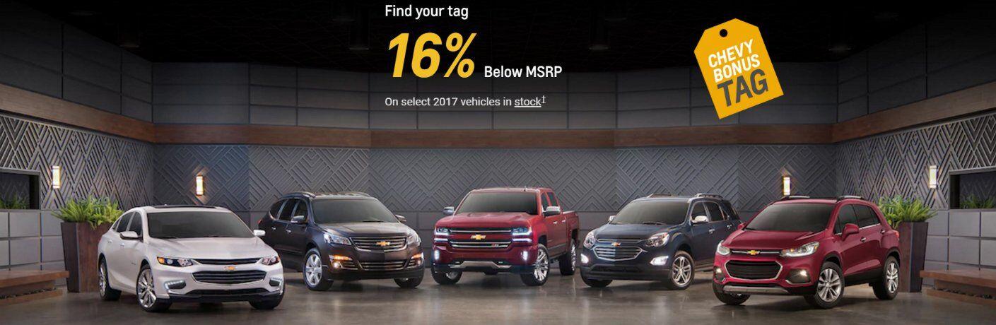 April 2017 Chevy Sales Fond du Lac WI