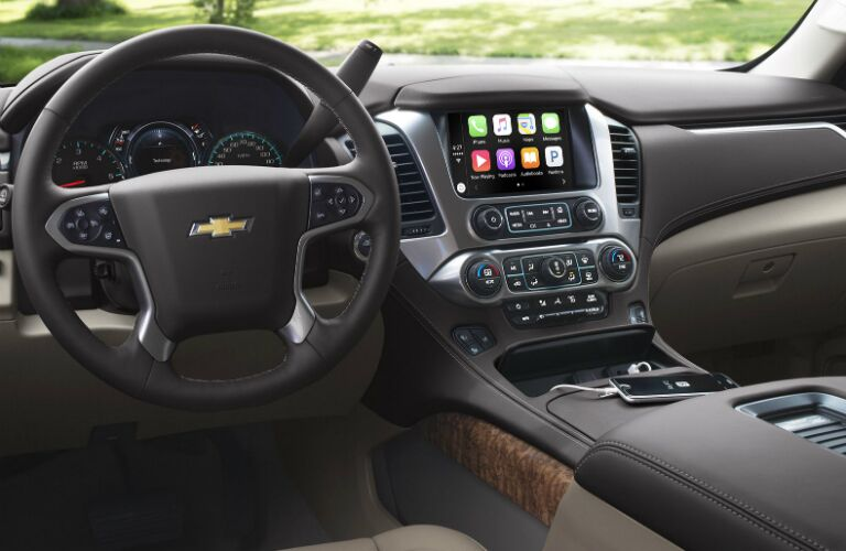 2017 chevy tahoe with apple carplay