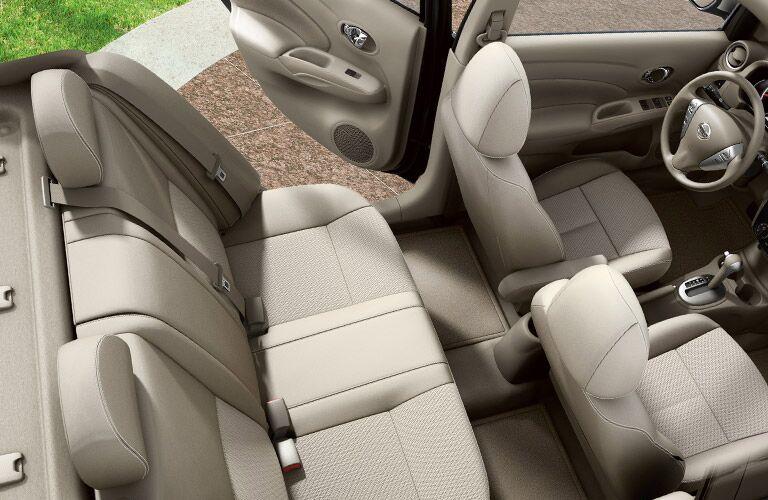 2017 Nissan Versa Rear Seating Space