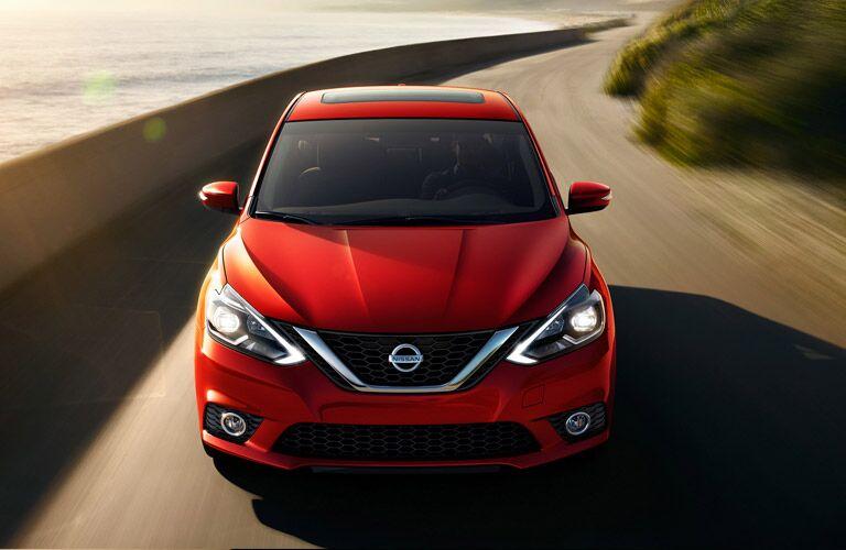 2017 Nissan Sentra exterior front