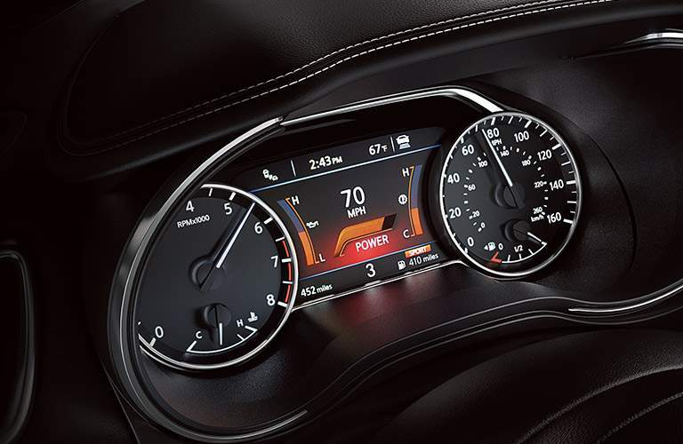 2017 nissan maxima platinum gauge cluster dashboard