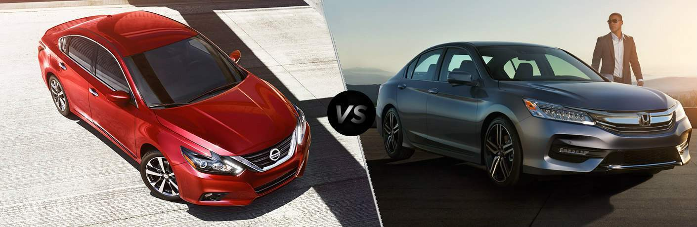2017 Nissan Altima vs 2017 Honda Accord