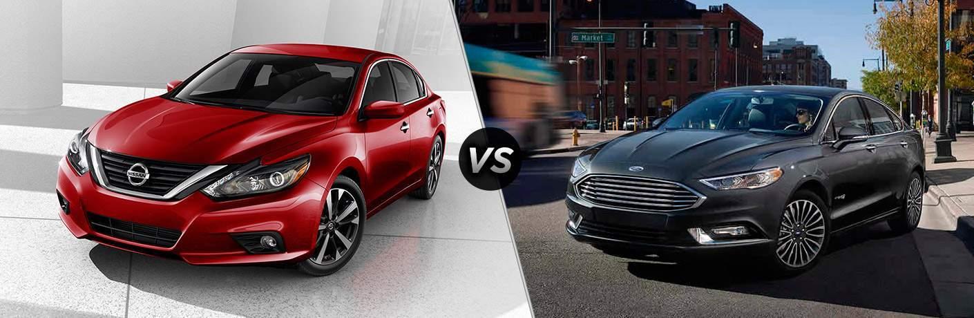 2017 Nissan Altima vs 2017 Ford Fusion