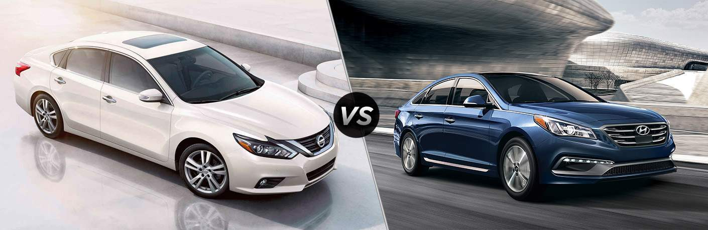2017 Nissan Altima vs 2017 Hyundai Sonata