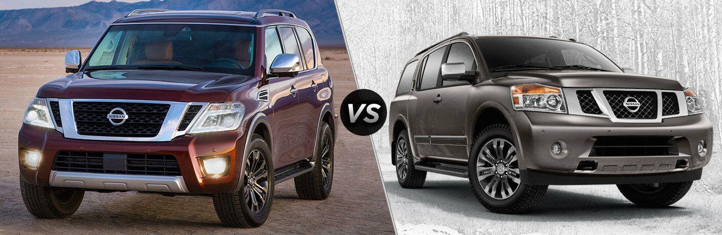 2017 Nissan Armada vs 2015 Nissan Armada