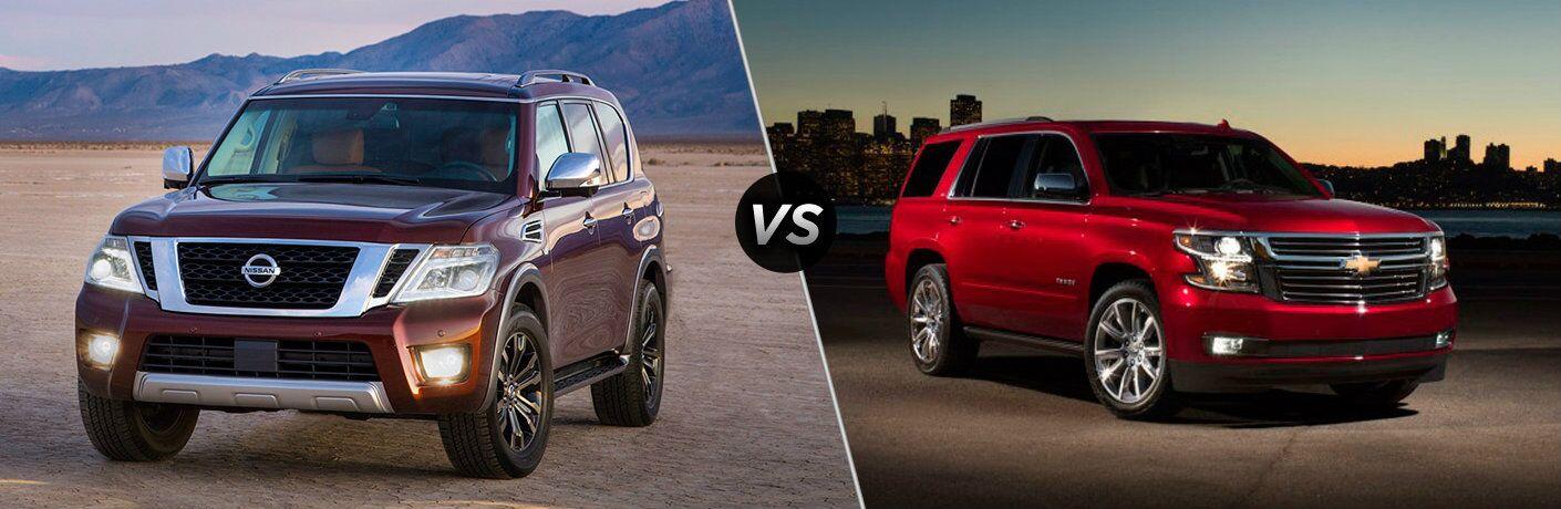 2017 Nissan Armada vs 2016 Chevy Tahoe