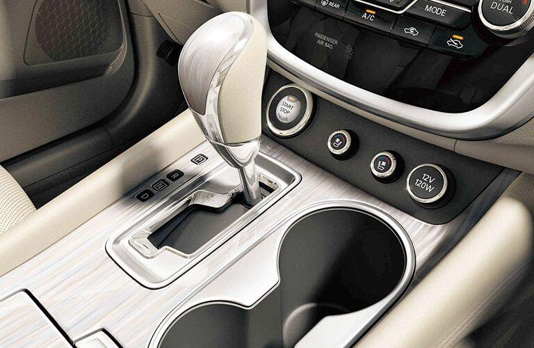 2017 Nissan Murano Center Console