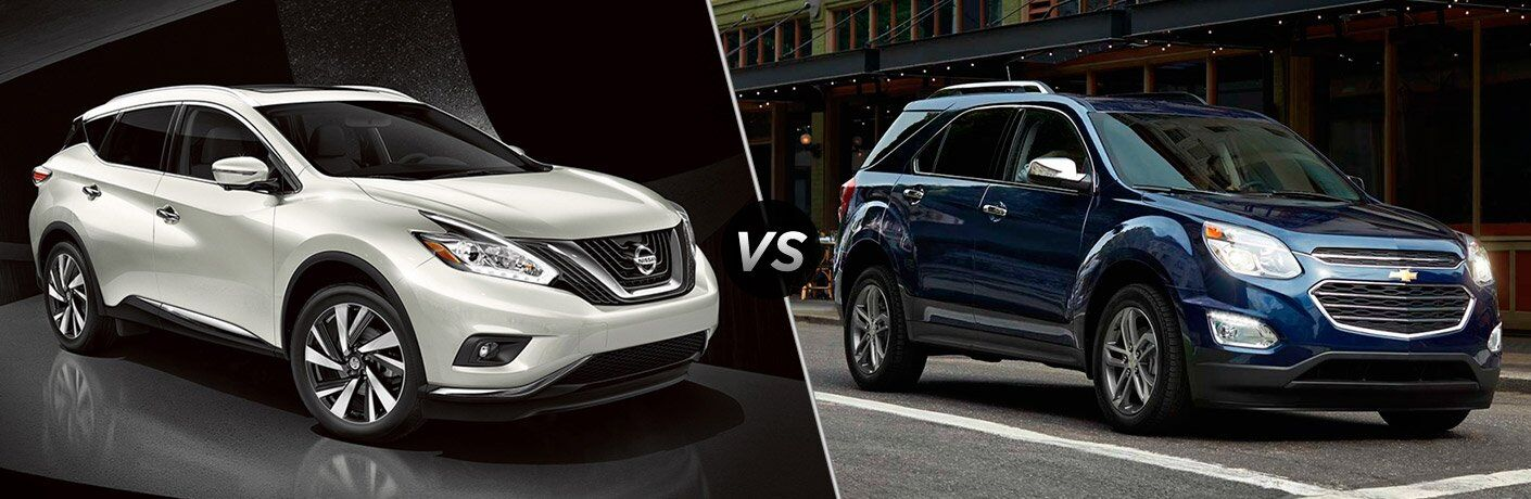 2017 nissan murano vs 2017 chevy equinox