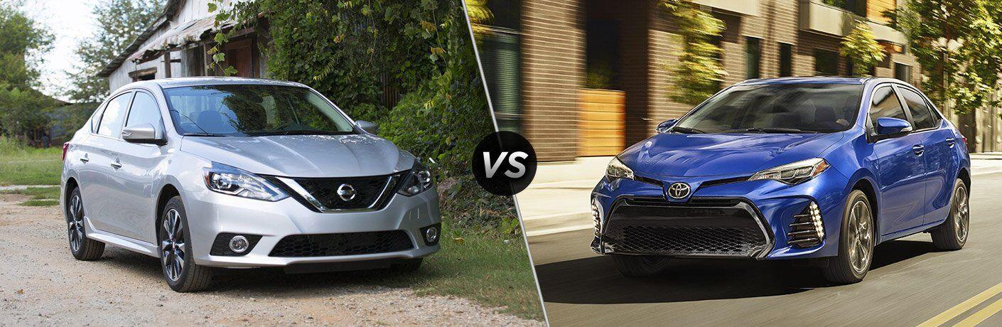 2017 Nissan Sentra vs 2017 Toyota Corolla