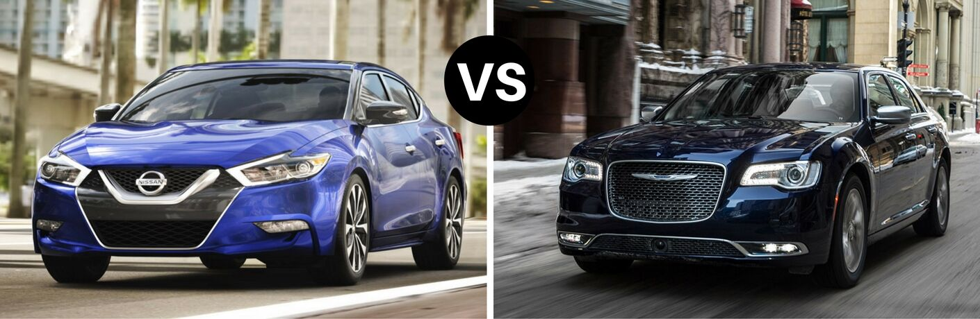 2017 Nissan Maxima vs 2017 Chrysler 300