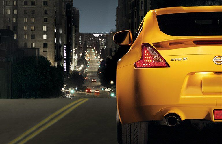 2017 nissan 370z exterior taillight exterior yellow color