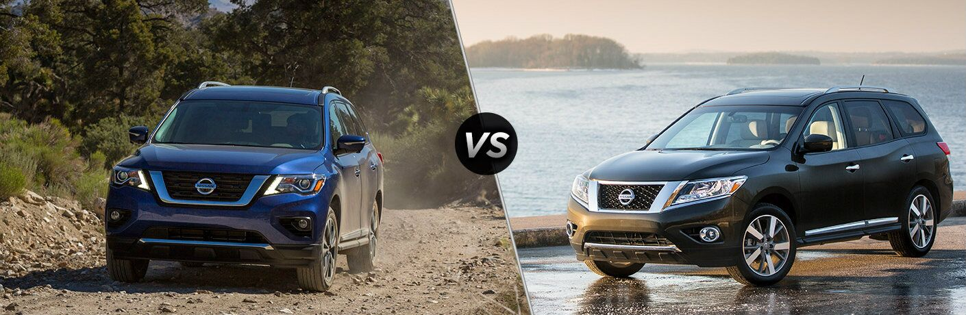 2017 Nissan Pathfinder vs 2016 Nissan Pathfinder