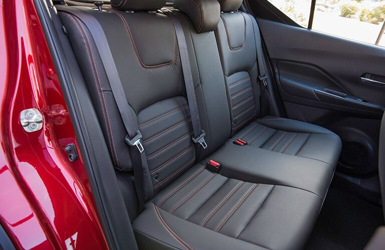 2018 Nissan Kicks interior back cabin seats