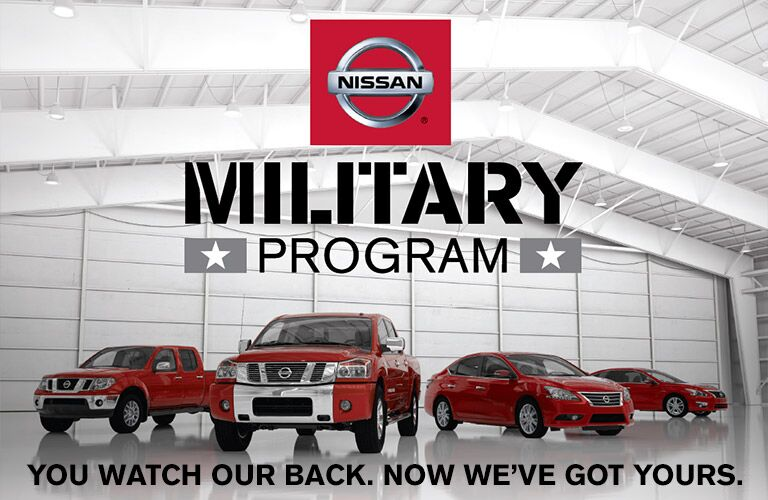 Nissan Military Program Winston-Salem NC