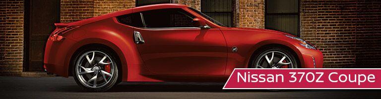 2017 Nissan 370Z Coupe exterior