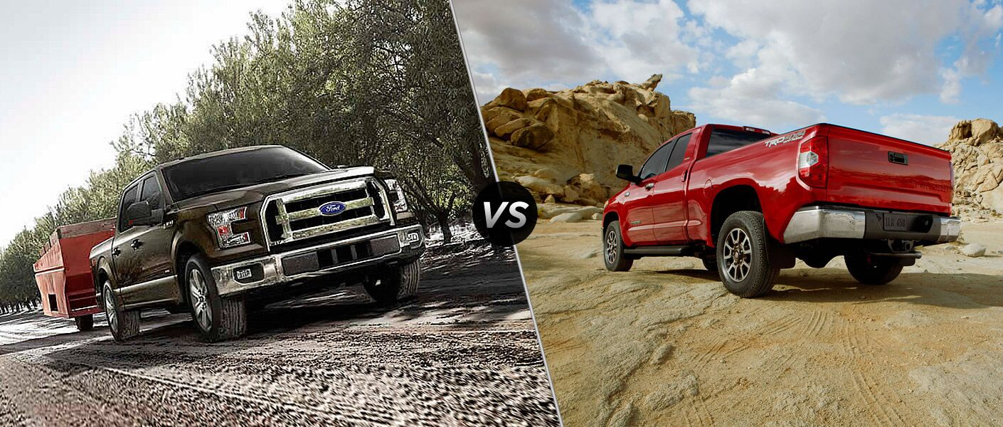 2015 ford f-150 vs 2015 toyota tundra