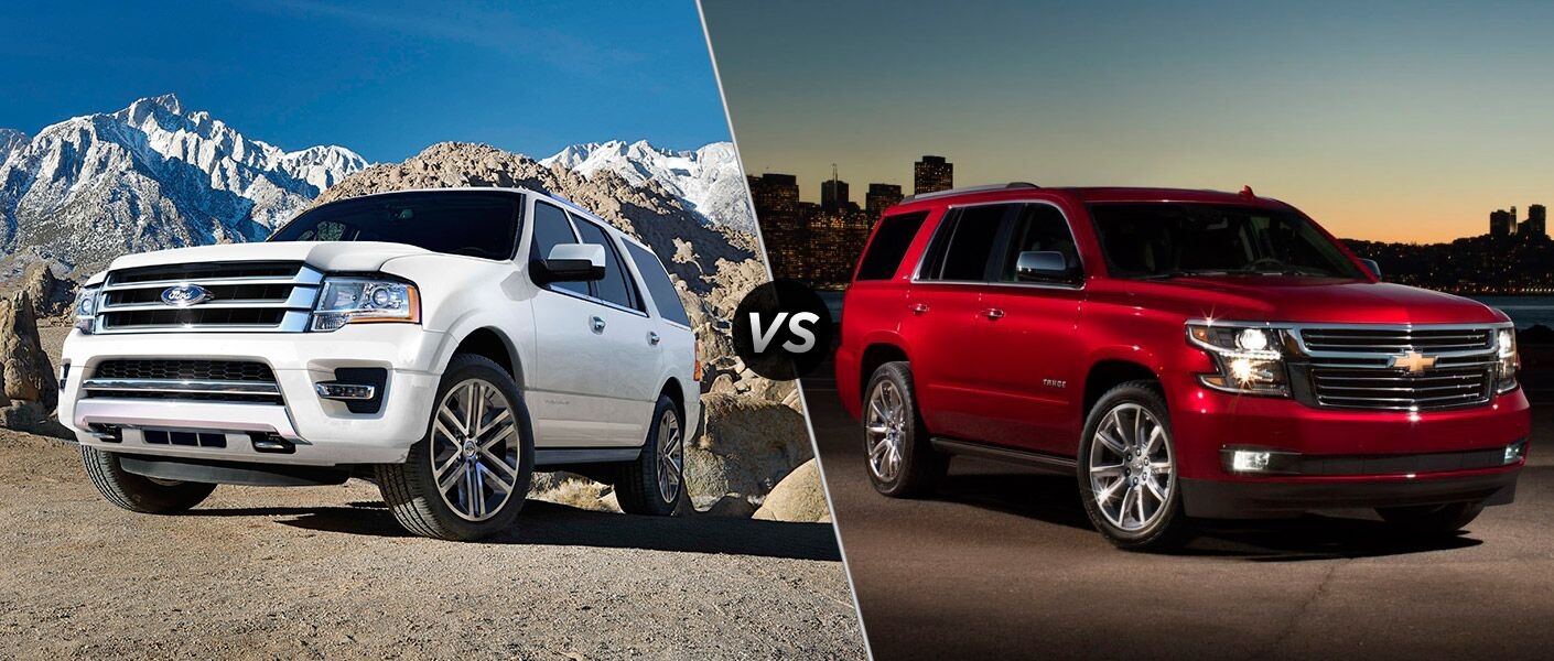2016 ford expedition vs 2016 chevrolet tahoe. Black Bedroom Furniture Sets. Home Design Ideas