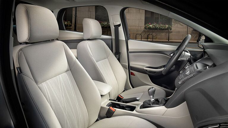 2017 Ford Focus interior front seats