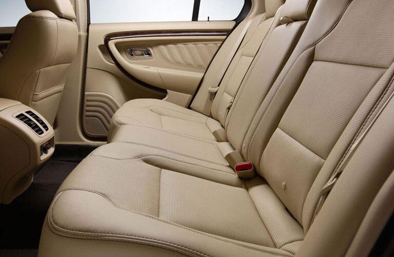 2017 Ford Taurus interior second row seat