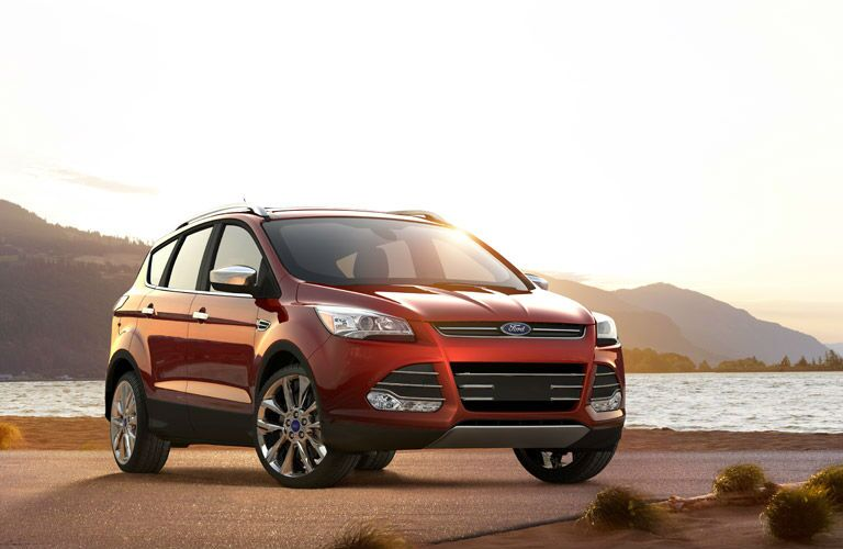 The 2016 Ford Escape comes in red.