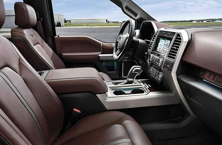 2016 Ford F-150 Brainerd MN Pine River MN Ford F-150 interior front seating