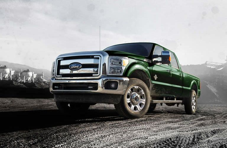 2016 Ford F-250 Brainerd MN exterior green
