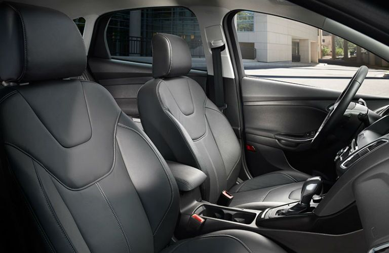 The 2016 Ford Focus offers ample seating space.