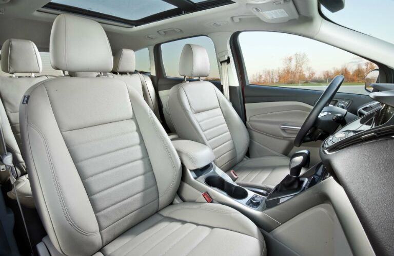 interior design of the 2016 ford escape