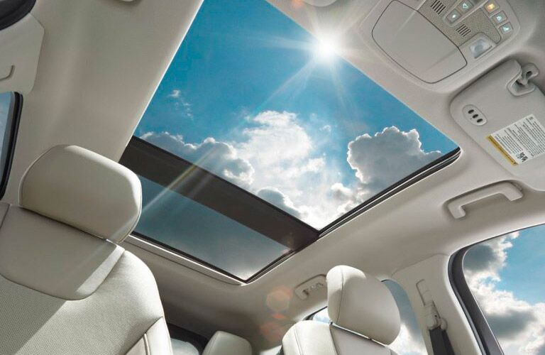 2017 Ford Edge interior sunroof
