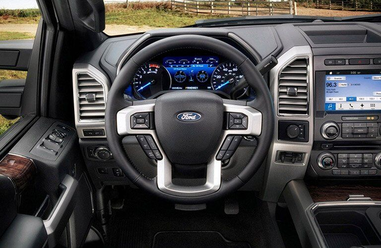 2017 Ford F-250 SuperDuty Steering Wheel