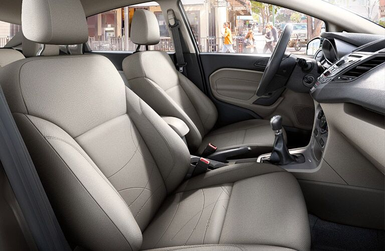 2017 Ford Fiesta interior front seat