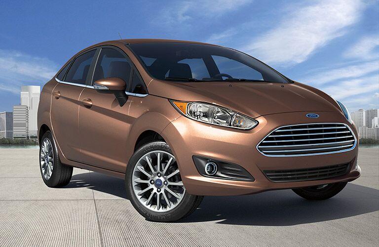 2017 Ford Fiesta sedan exterior front
