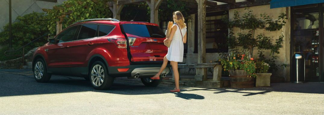 2017 Ford Escape exterior rear power liftgate