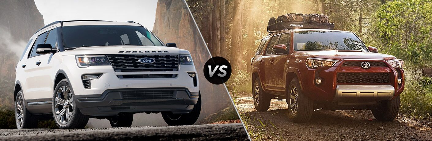 2018 Ford Explorer vs 2018 Toyota Highlander comparison image