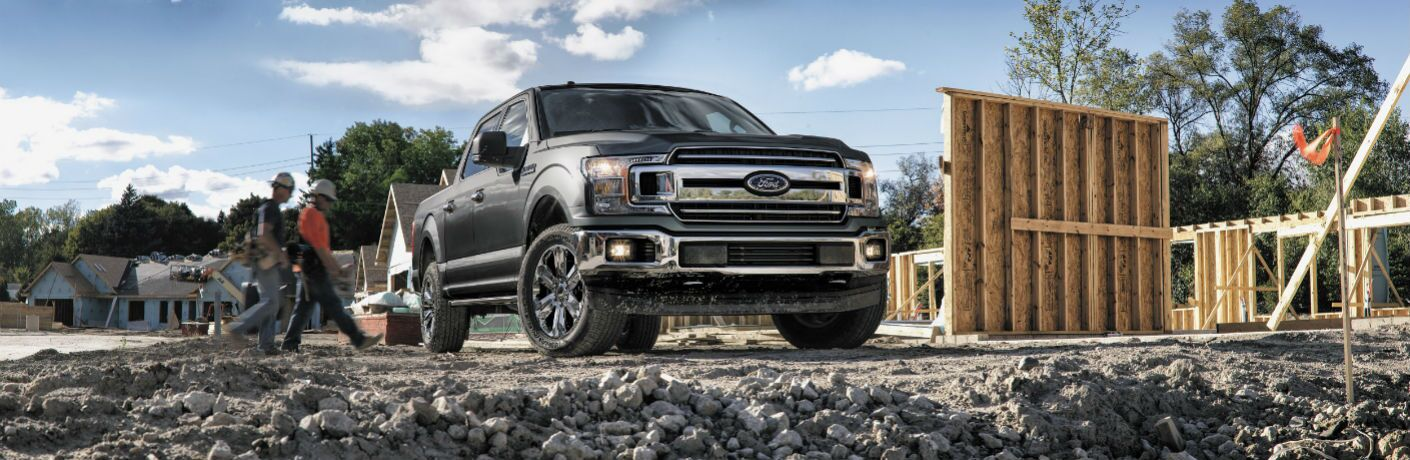 2018 Ford F-150 on the work site