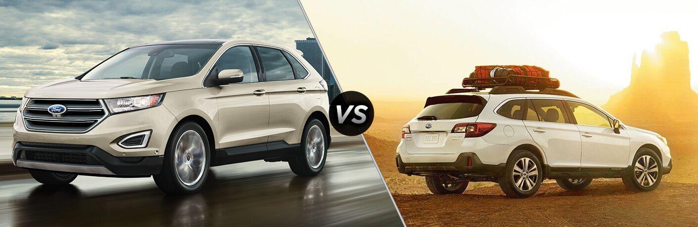 2019 Ford Edge vs 2019 Subaru Outback comparison image