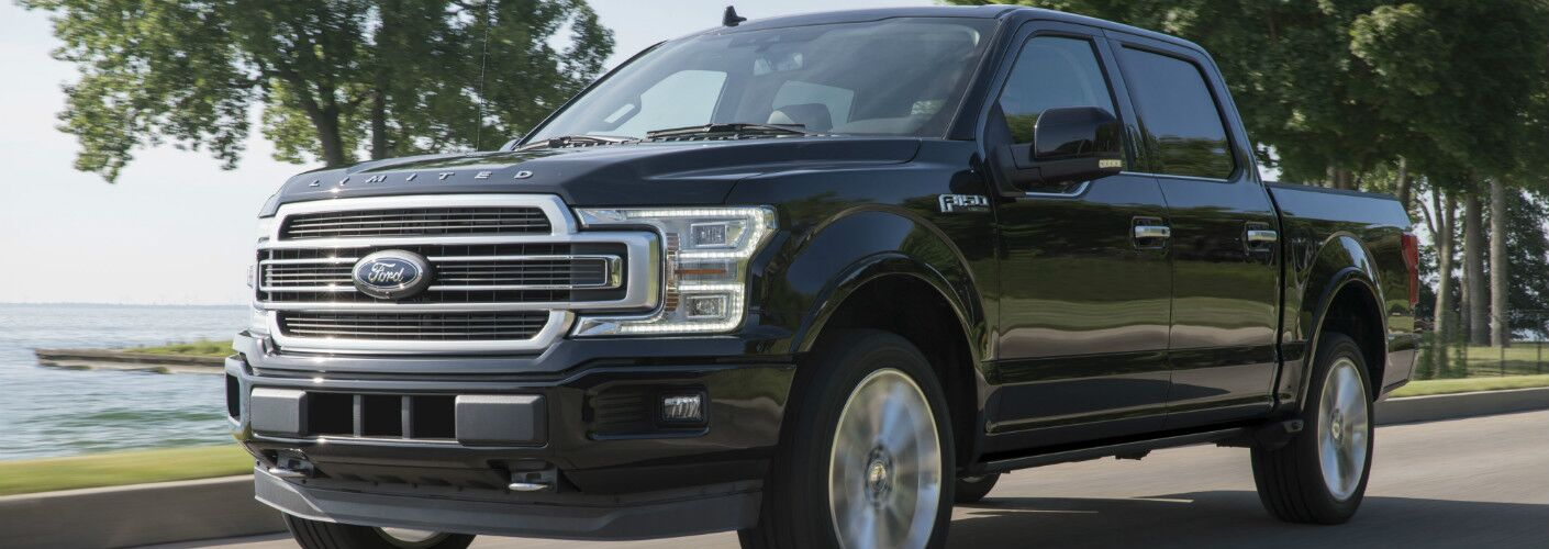 2019 Ford F-150 Limited on the road