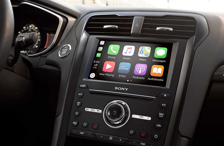 2020 Ford Fusion SYNC 3 app suite