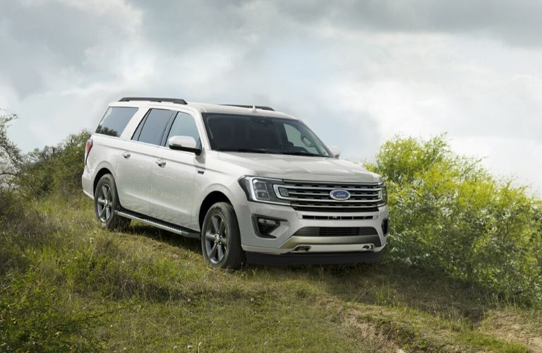 2020 Ford Expedition on grassy hill