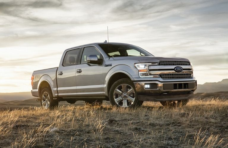 2020 Ford F-150 parked in a field