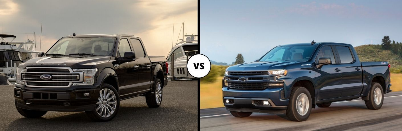 2020 Ford F-150 vs 2020 Chevy Silverado