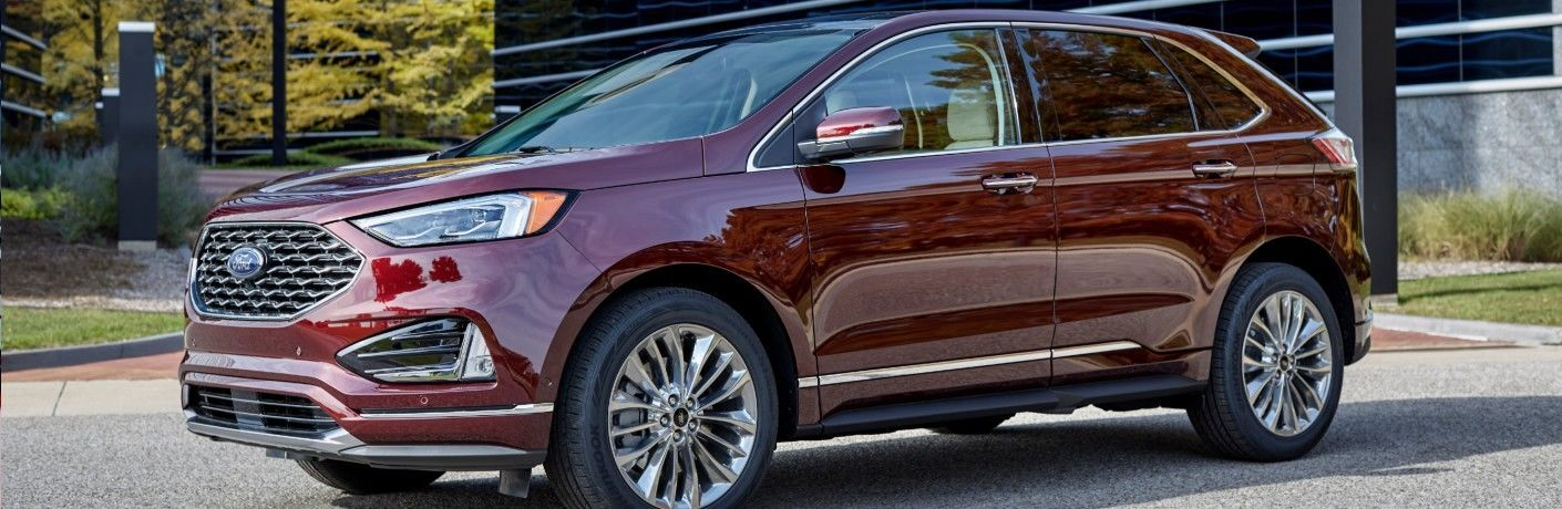 2021 Ford Edge from exterior front