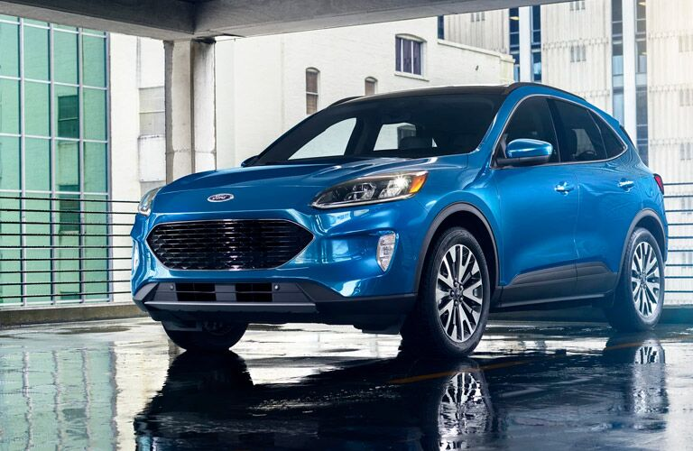 2021 Ford Escape front and side view