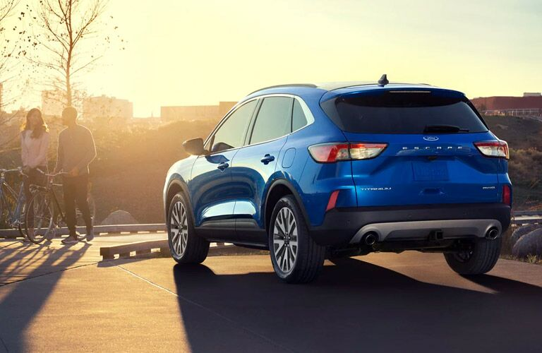2021 Ford Escape back and side view