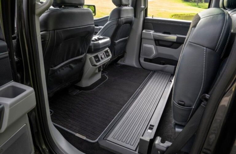Second row of the 2021 Ford F-150