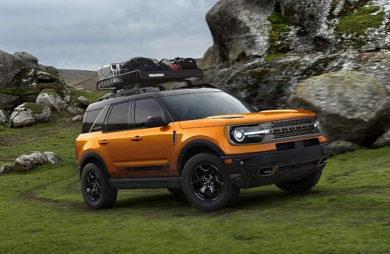 2021 Ford Bronco Sport with Yakima roof rack
