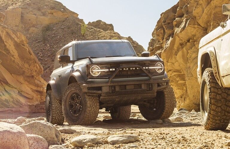 2021 Ford Bronco in desert