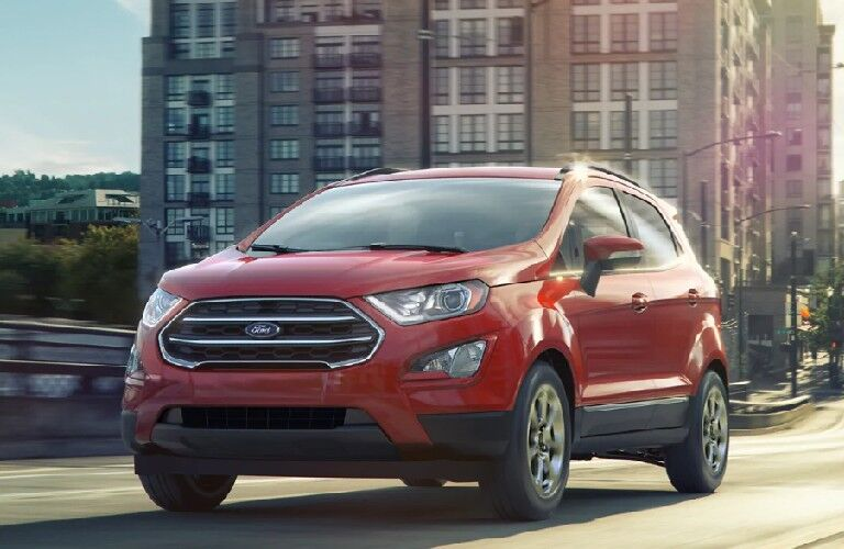 2021 Ford EcoSport from exterior front
