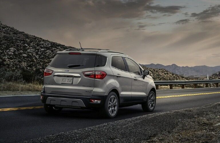 2021 Ford EcoSport from exterior rear